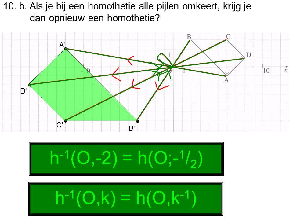 h-1(O,-2) = h(O;-1/2) h-1(O,k) = h(O,k-1)