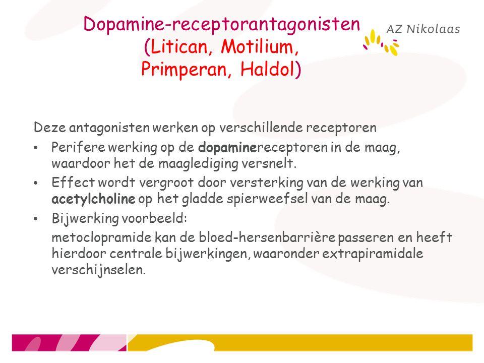 Dopamine-receptorantagonisten (Litican, Motilium, Primperan, Haldol)