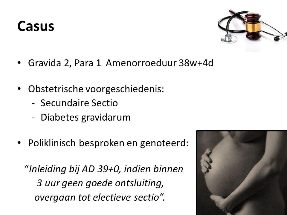 Casus Gravida 2, Para 1 Amenorroeduur 38w+4d