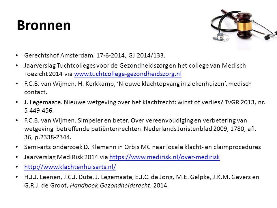 Bronnen Gerechtshof Amsterdam, 17-6-2014, GJ 2014/133.