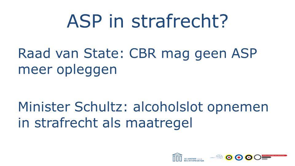 ASP in strafrecht.
