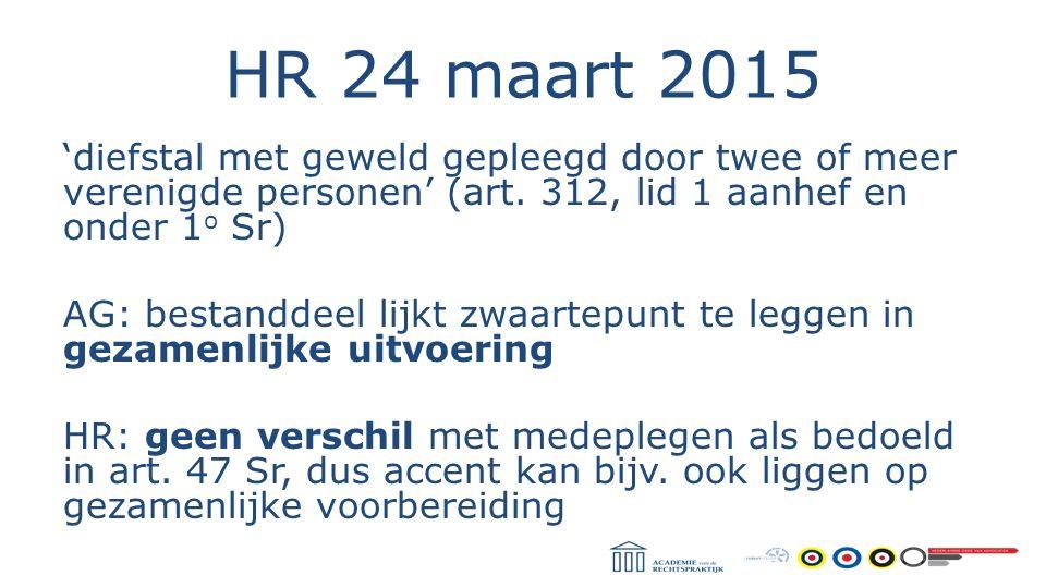 HR 24 maart 2015