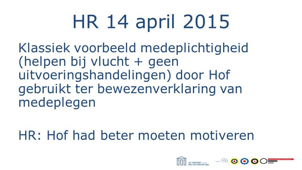 HR 14 april 2015