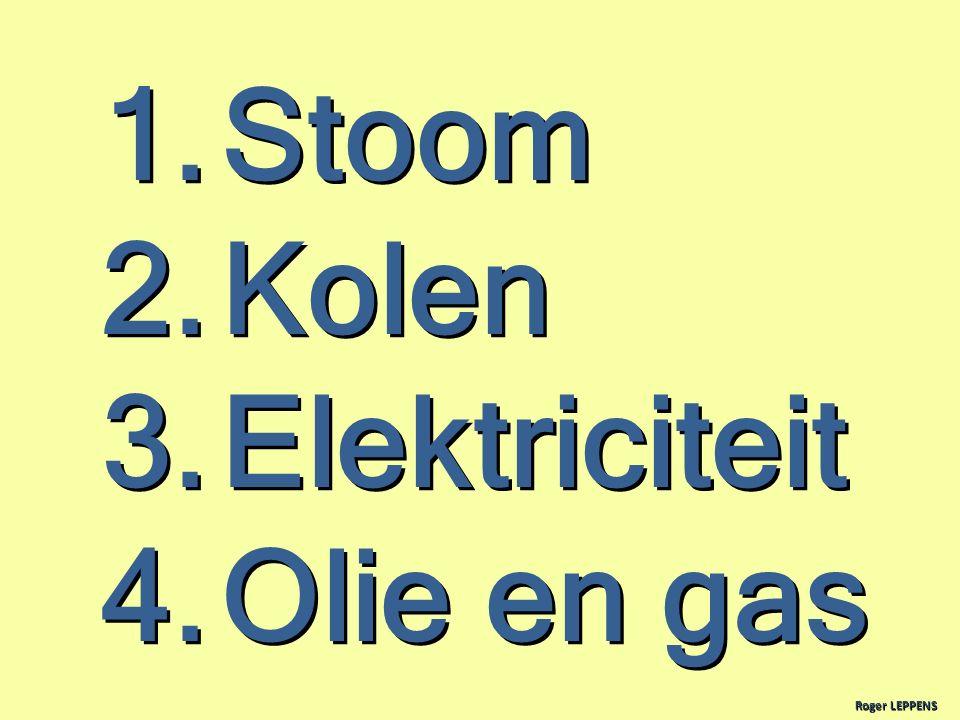 Stoom Kolen Elektriciteit Olie en gas Roger LEPPENS 11