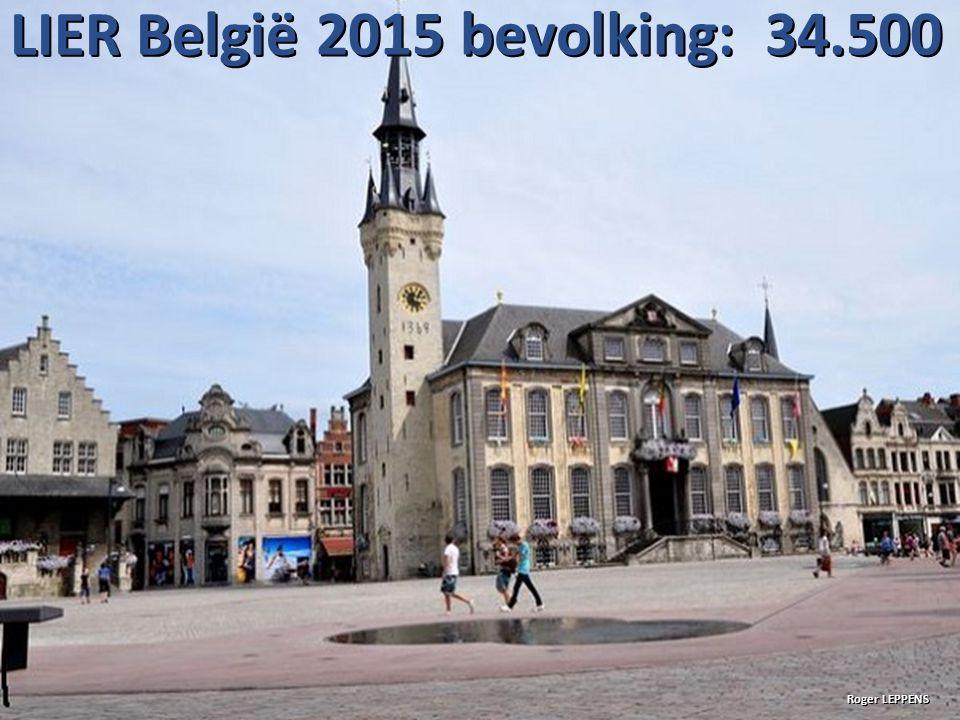 LIER België 2015 bevolking: 34.500 Roger LEPPENS