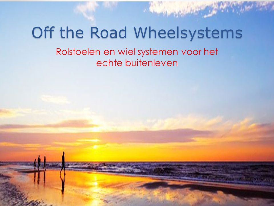 Off the Road Wheelsystems