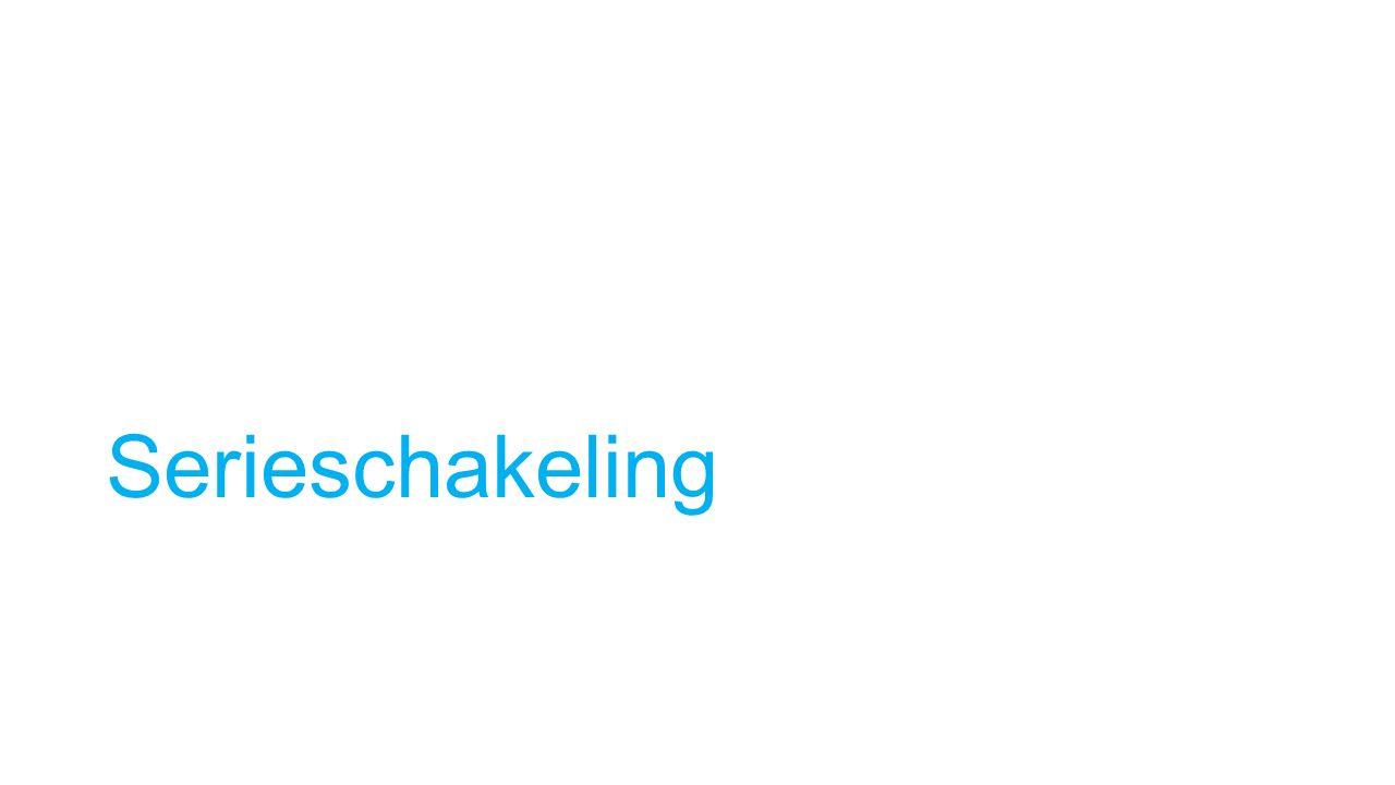 Serieschakeling