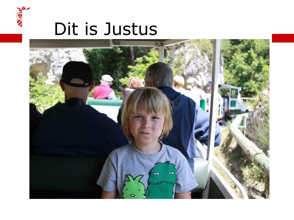 Dit is Justus