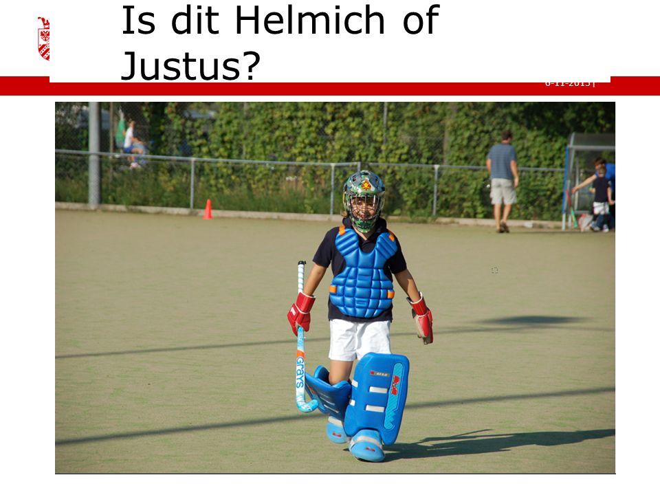 Is dit Helmich of Justus