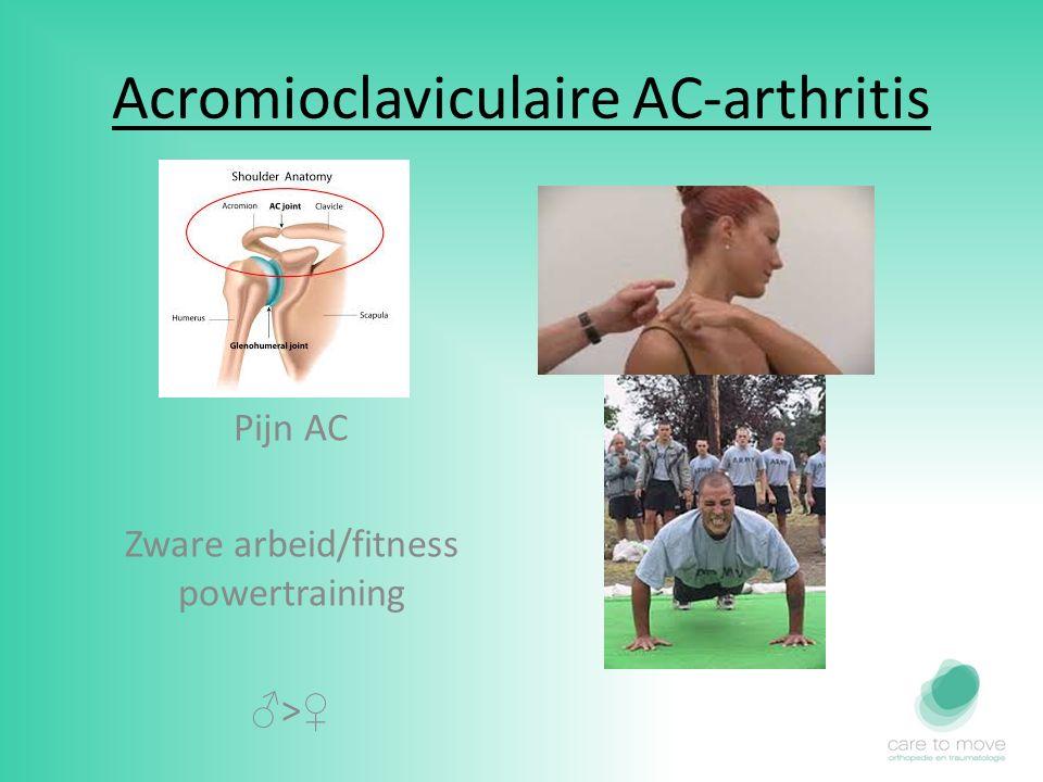 Acromioclaviculaire AC-arthritis