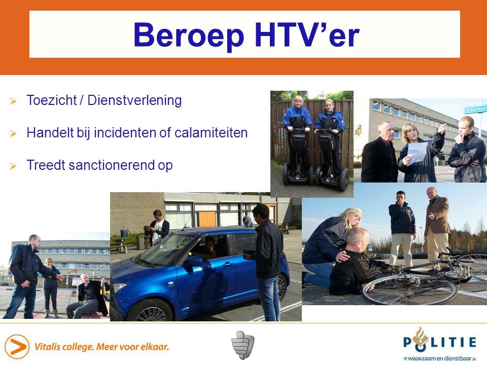 Beroep HTV'er Toezicht / Dienstverlening