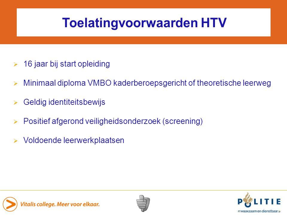 Toelatingvoorwaarden HTV