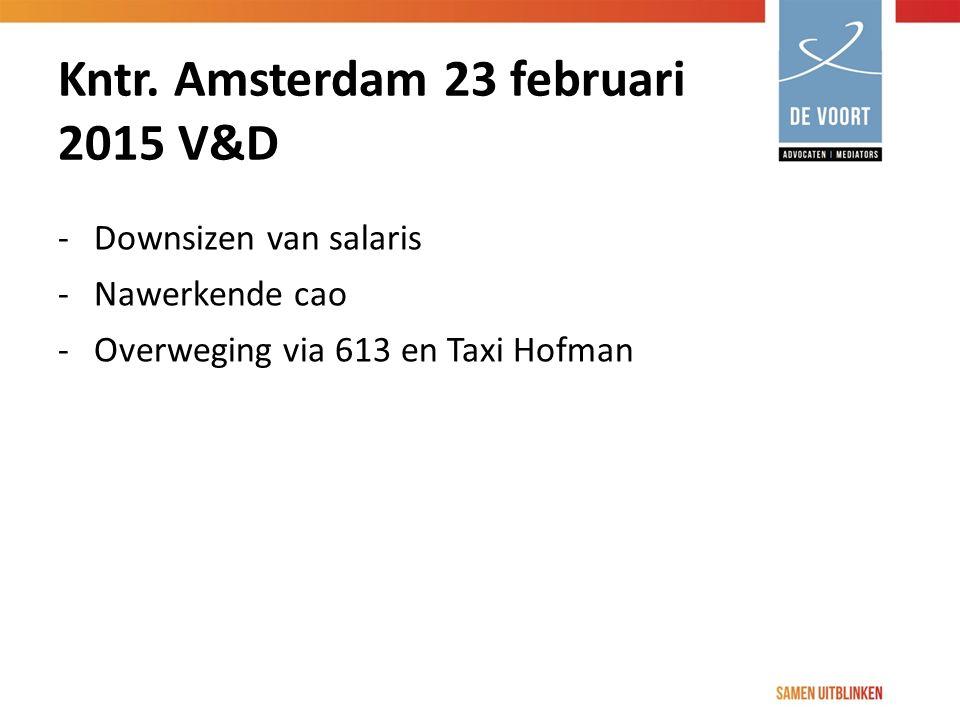 Kntr. Amsterdam 23 februari 2015 V&D