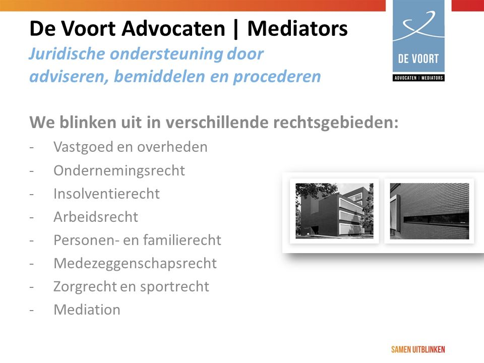 De Voort Advocaten | Mediators