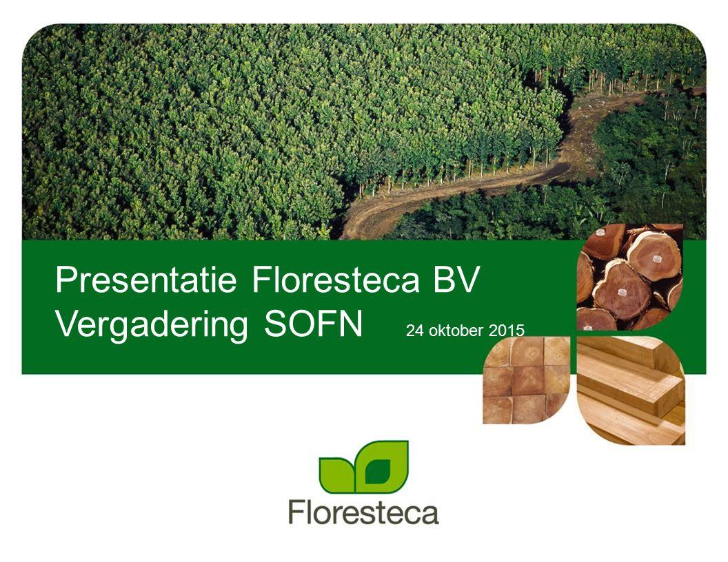 Presentatie Floresteca BV
