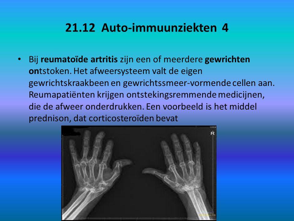 21.12 Auto-immuunziekten 4