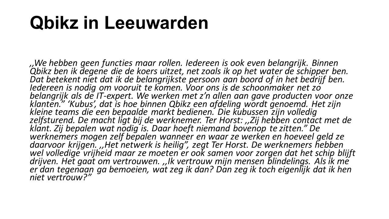 Qbikz in Leeuwarden