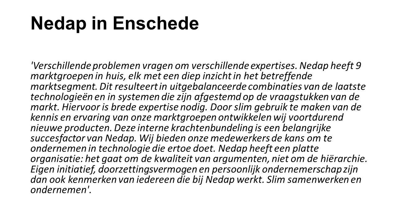 Nedap in Enschede