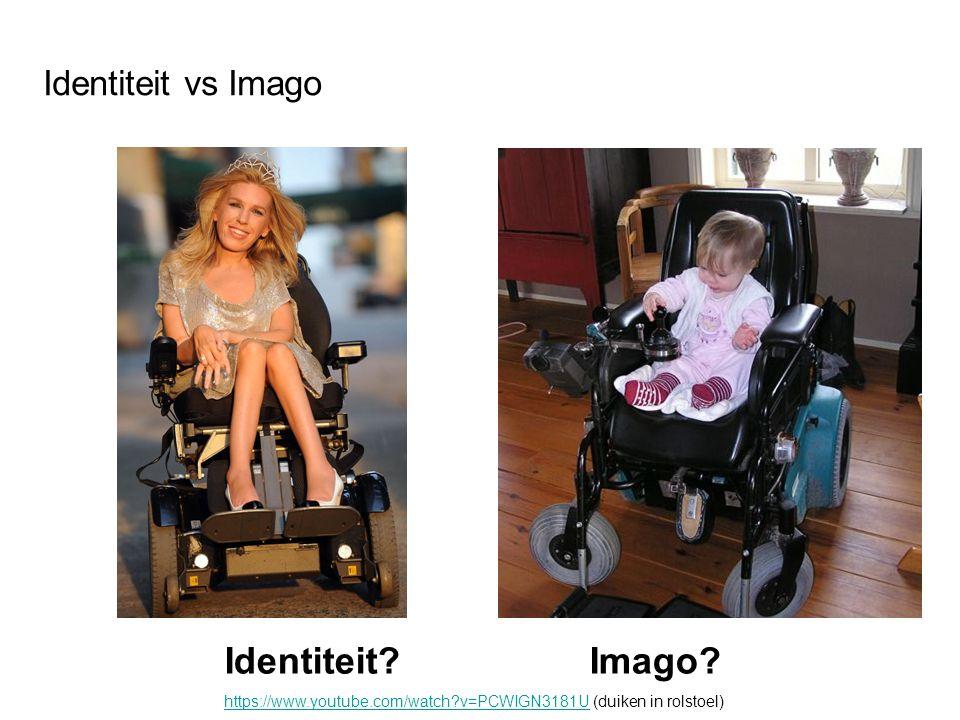 Identiteit Imago Identiteit vs Imago