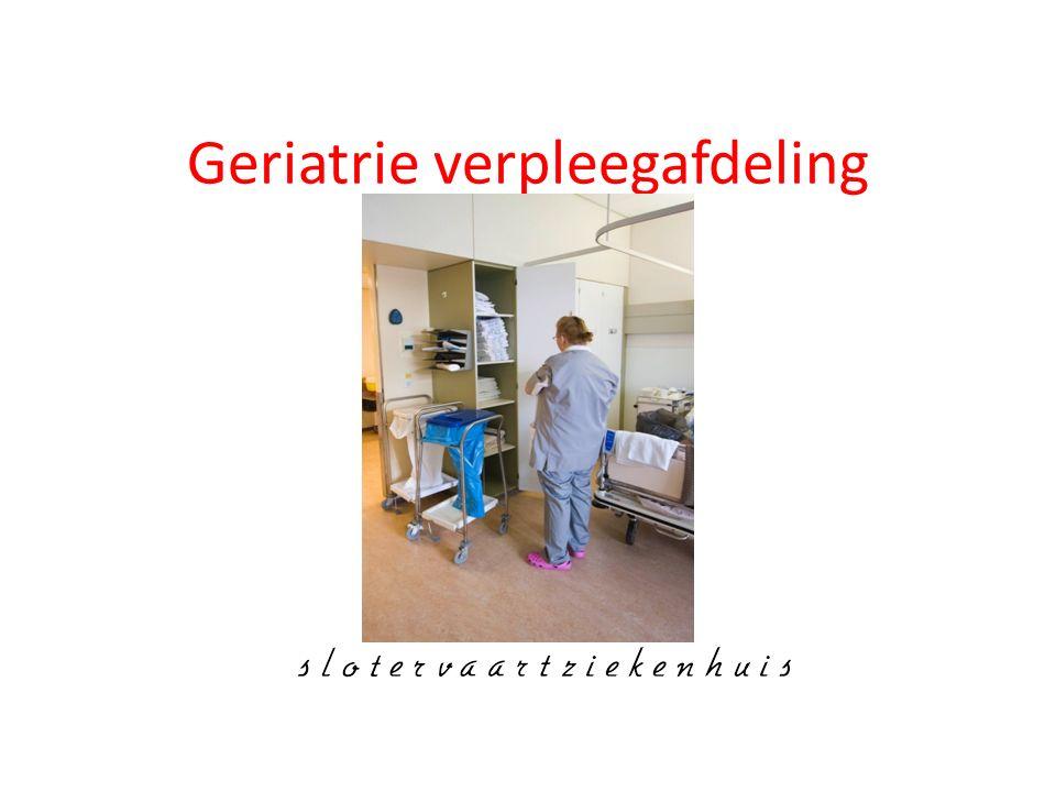 Geriatrie verpleegafdeling