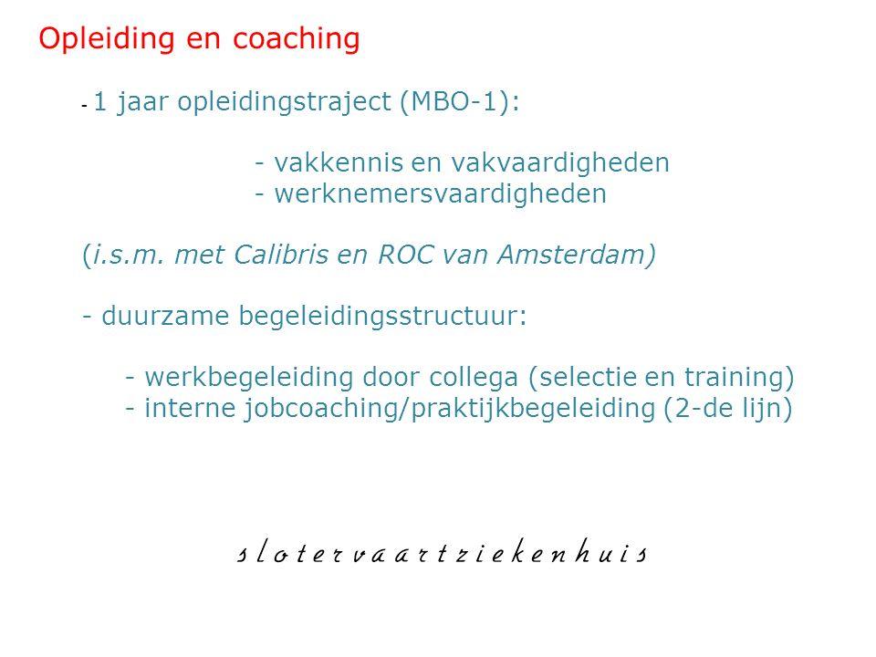 Opleiding en coaching - werknemersvaardigheden