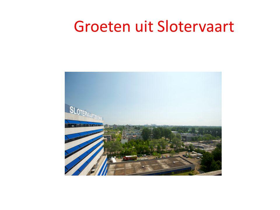 Groeten uit Slotervaart