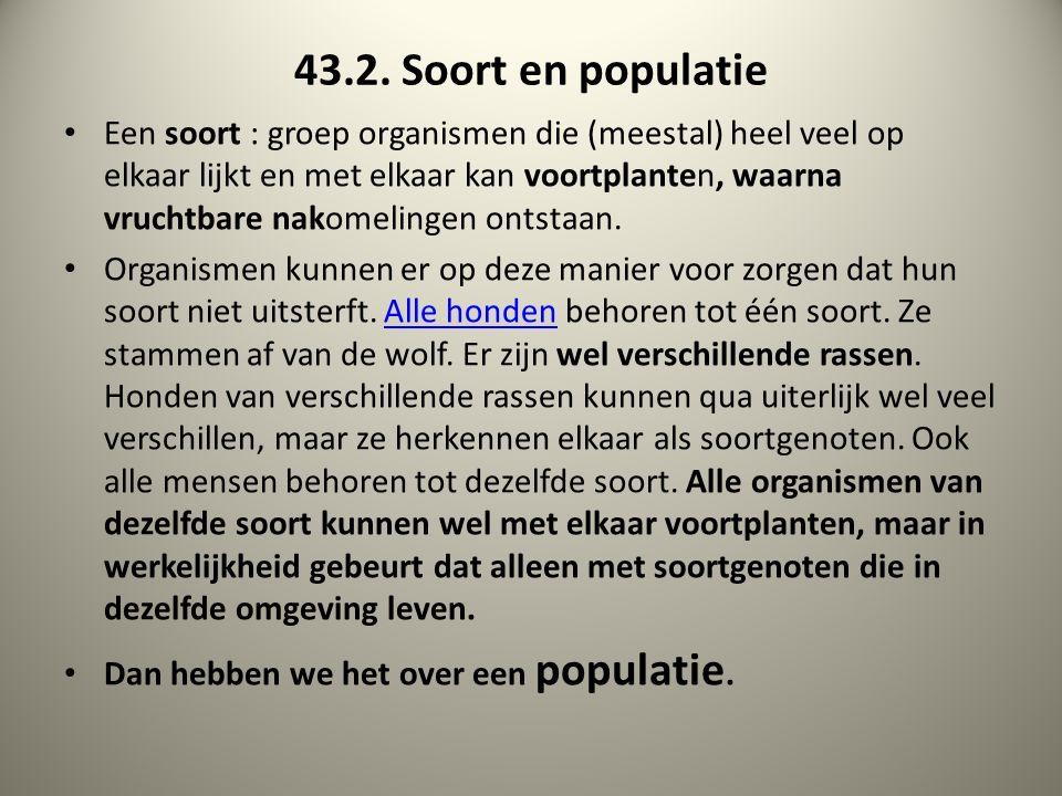 43.2. Soort en populatie