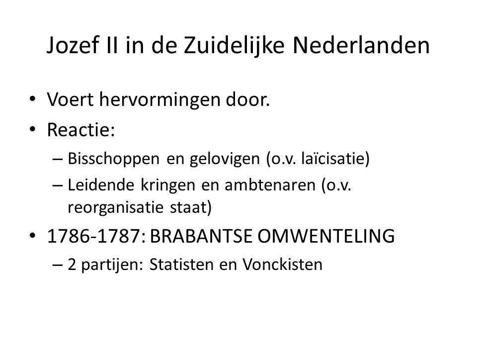 Jozef II in de Zuidelijke Nederlanden