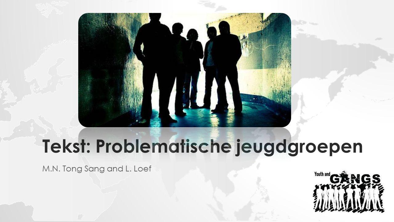 Tekst: Problematische jeugdgroepen