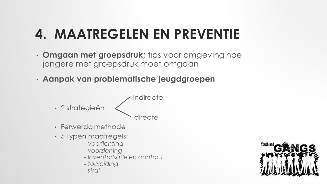 4. Maatregelen en preventie