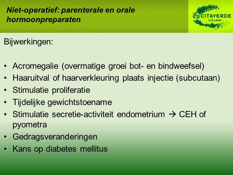 Acromegalie (overmatige groei bot- en bindweefsel)