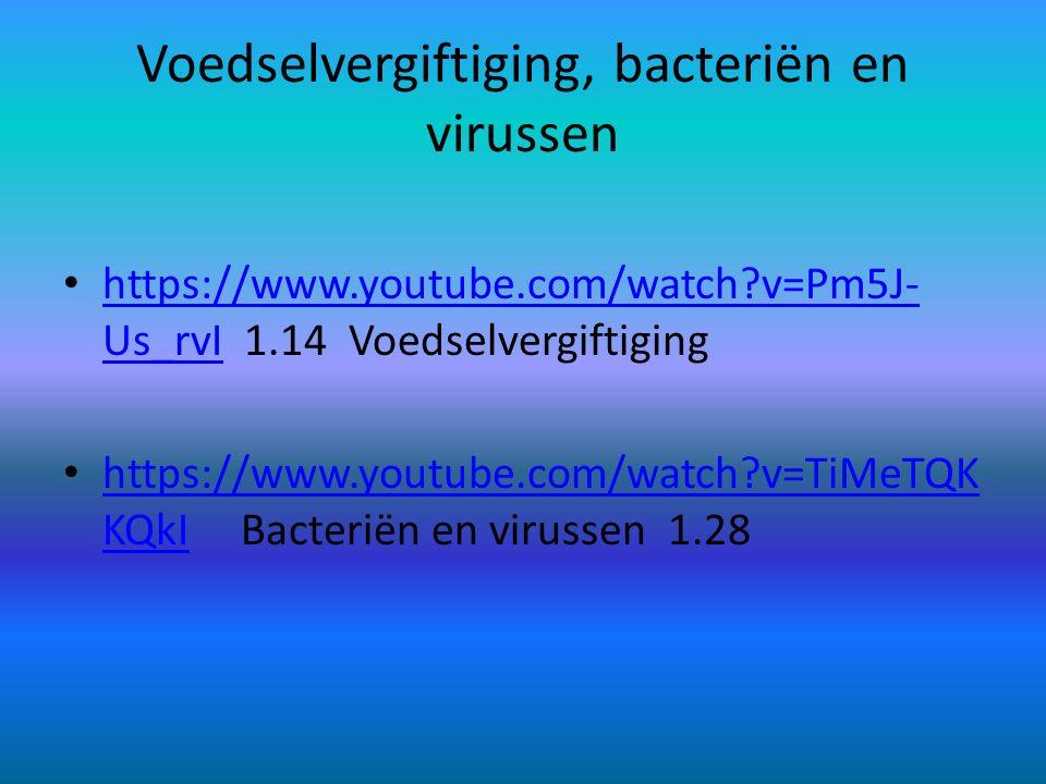 Voedselvergiftiging, bacteriën en virussen