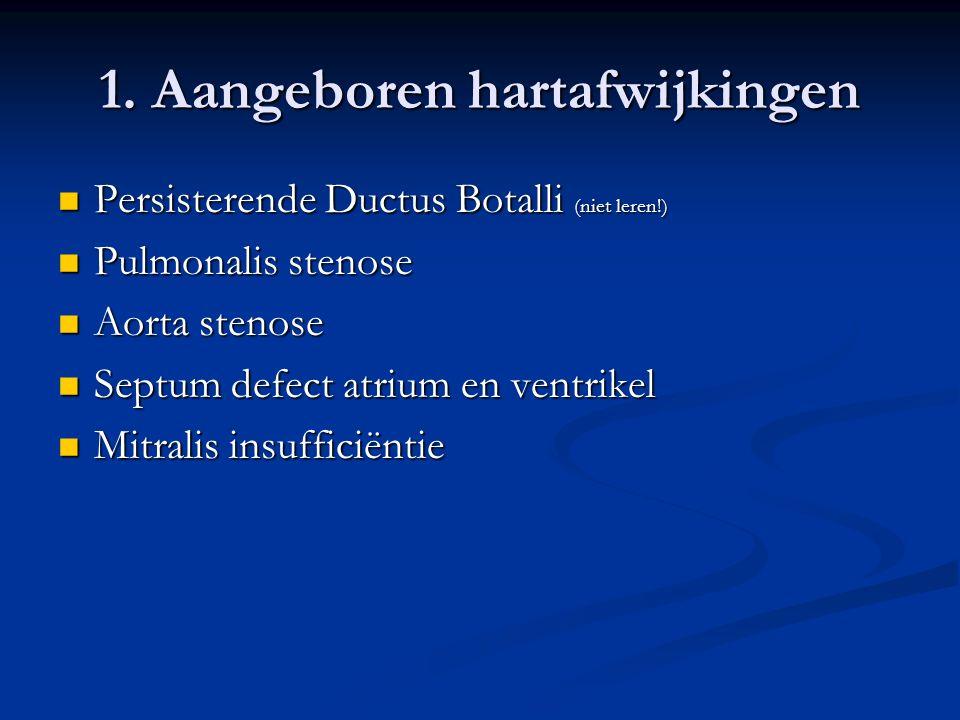 1. Aangeboren hartafwijkingen