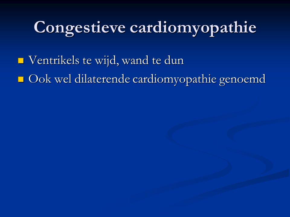 Congestieve cardiomyopathie