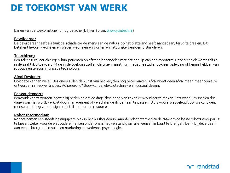 Banen van de toekomst die nu nog belachelijk lijken (bron: www.youtech.nl)