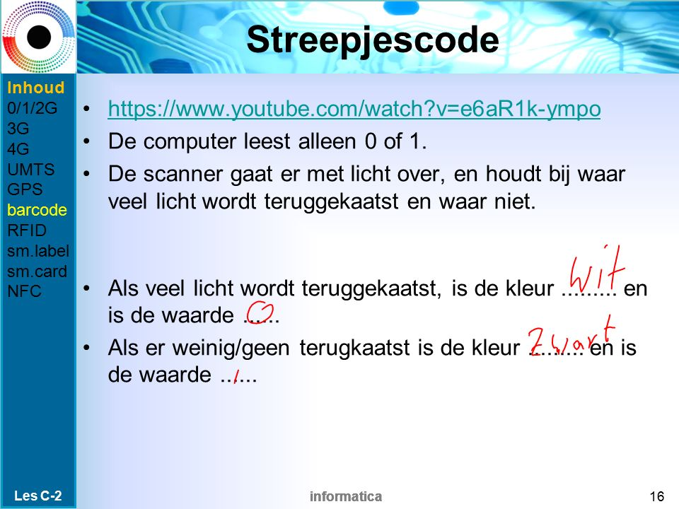 Streepjescode https://www.youtube.com/watch v=e6aR1k-ympo