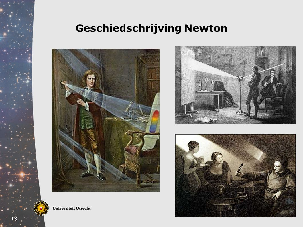 Geschiedschrijving Newton
