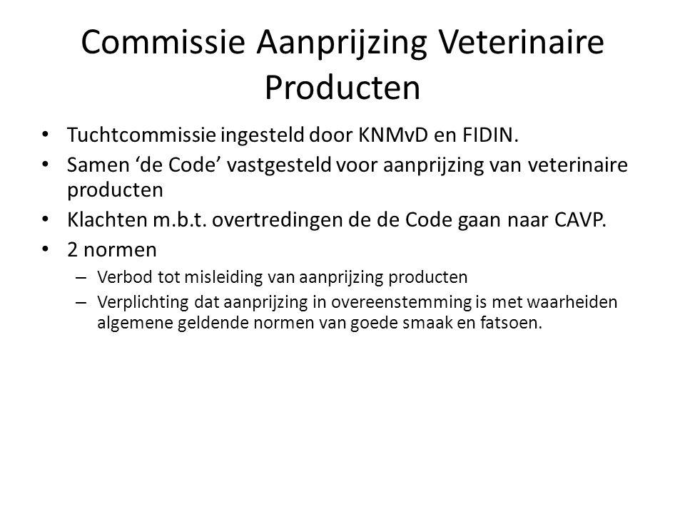 Commissie Aanprijzing Veterinaire Producten