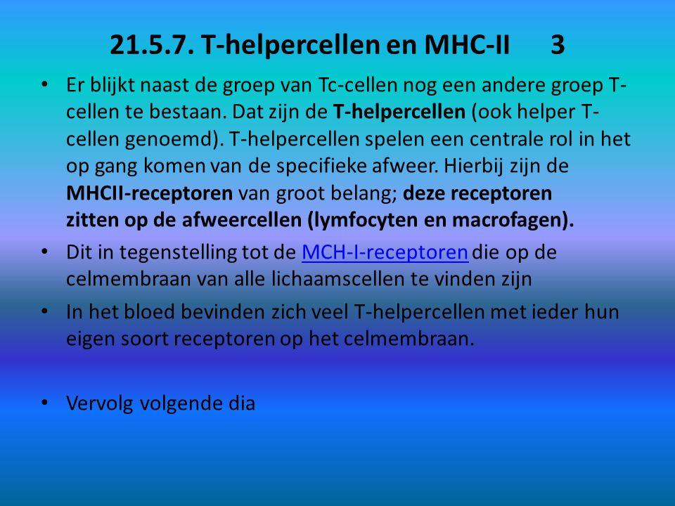 21.5.7. T-helpercellen en MHC-II 3