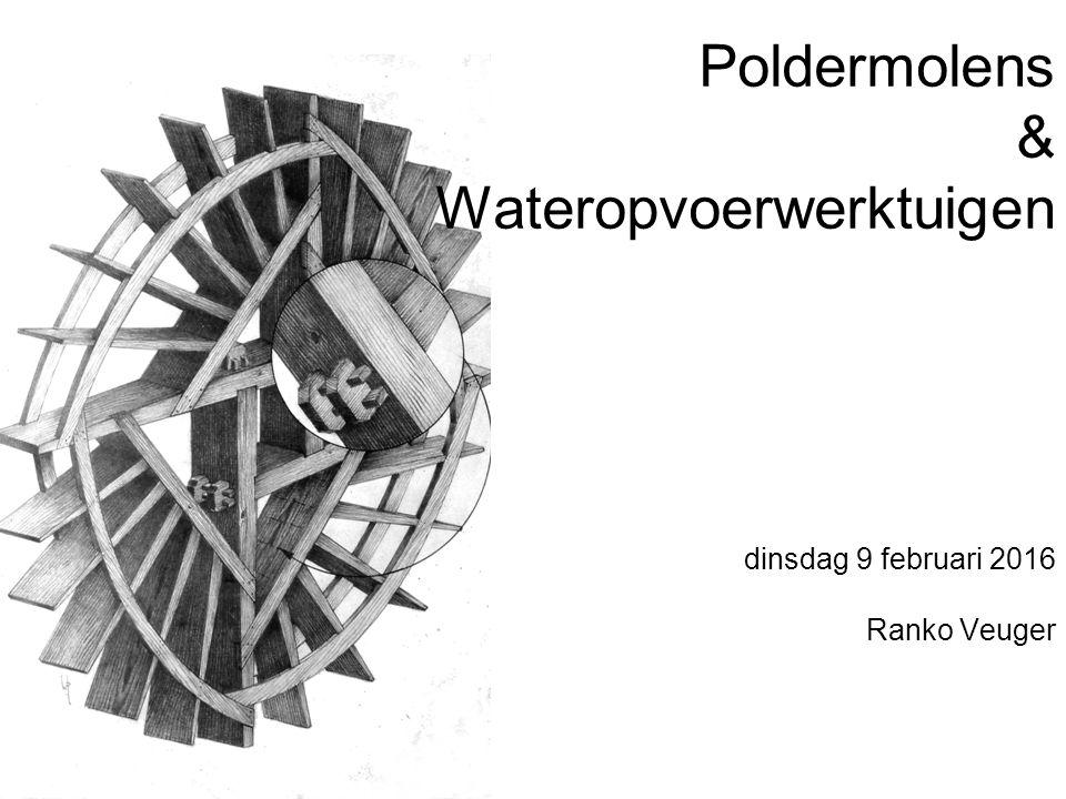 Poldermolens & Wateropvoerwerktuigen
