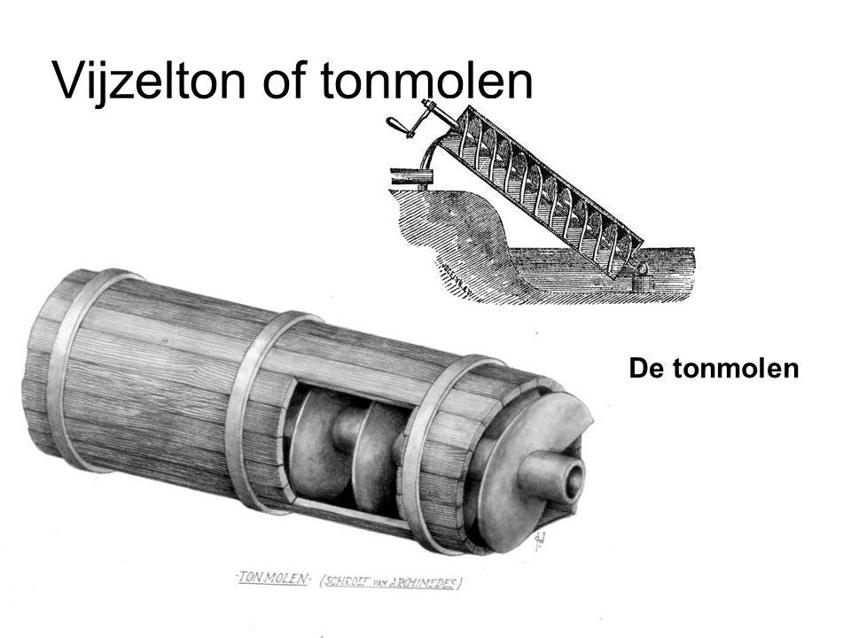 Vijzelton of tonmolen De tonmolen