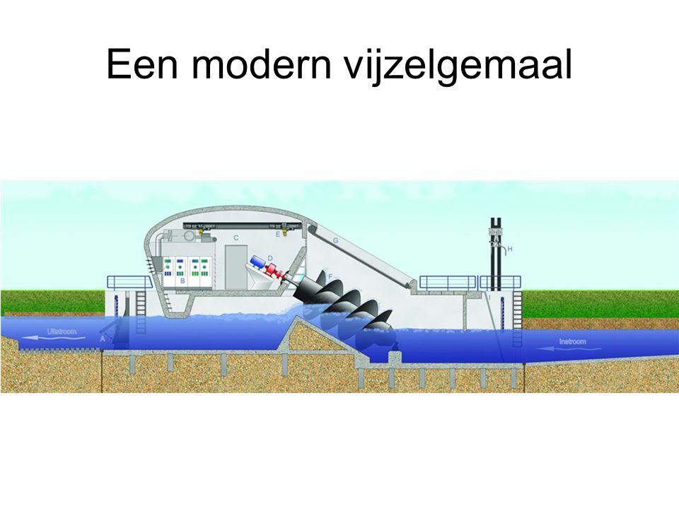 Een modern vijzelgemaal