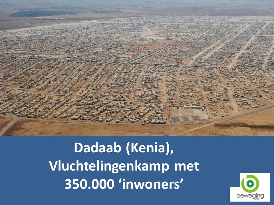 Dadaab (Kenia), Vluchtelingenkamp met 350.000 'inwoners'