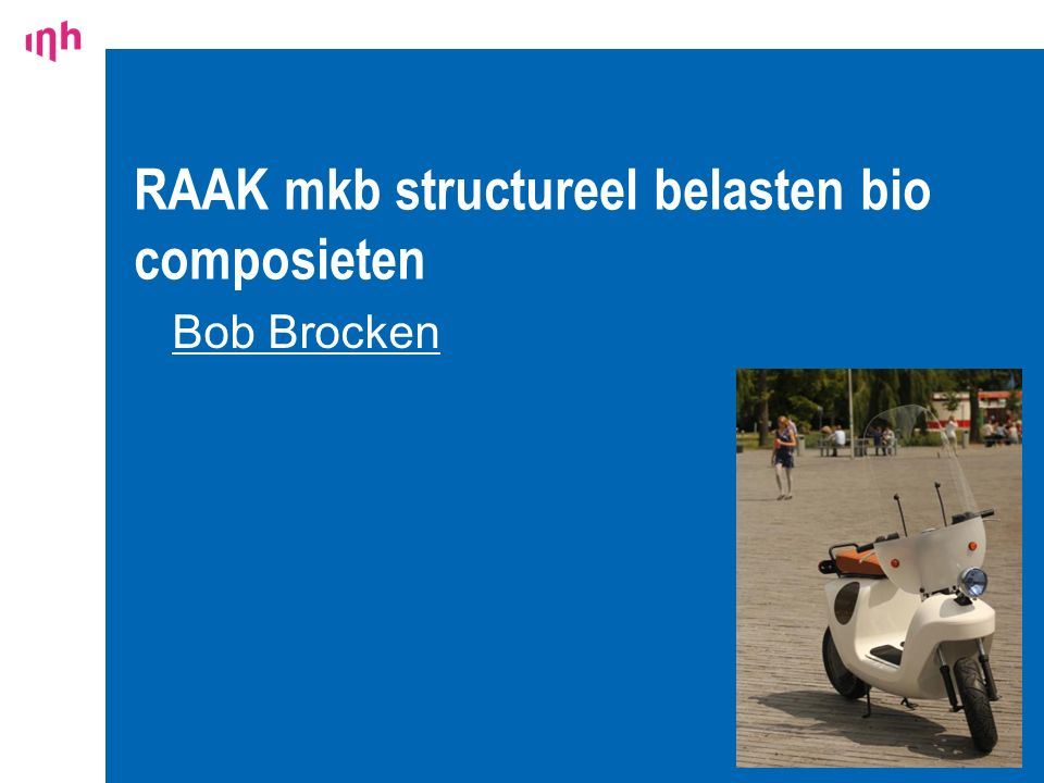 RAAK mkb structureel belasten bio composieten