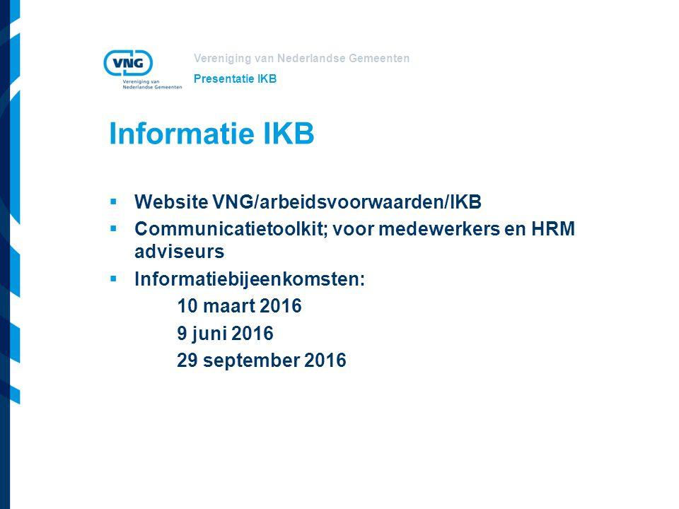 Informatie IKB Website VNG/arbeidsvoorwaarden/IKB