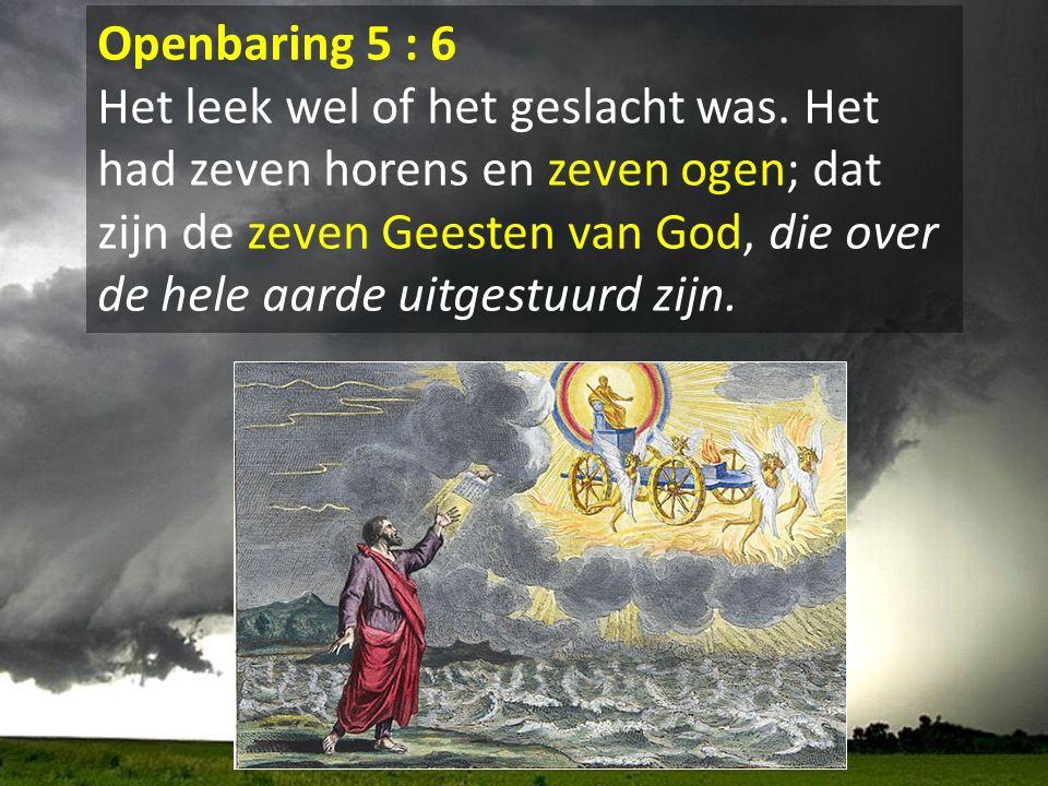 Openbaring 5 : 6