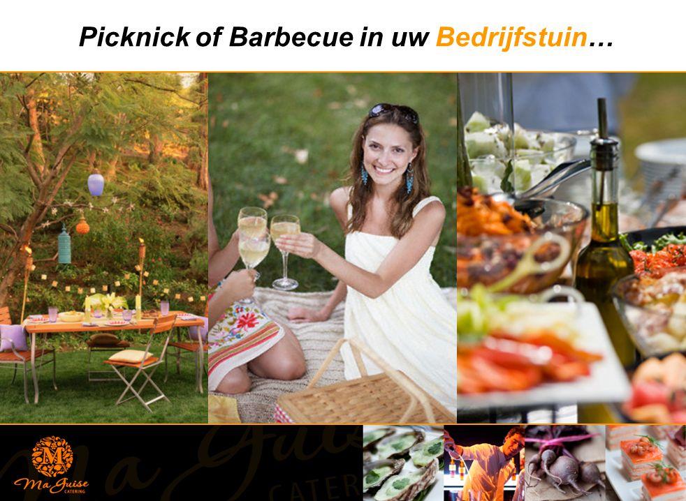 Picknick of Barbecue in uw Bedrijfstuin…