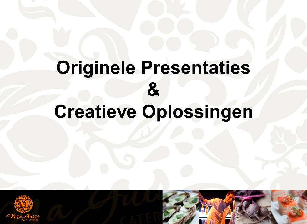 Originele Presentaties Creatieve Oplossingen