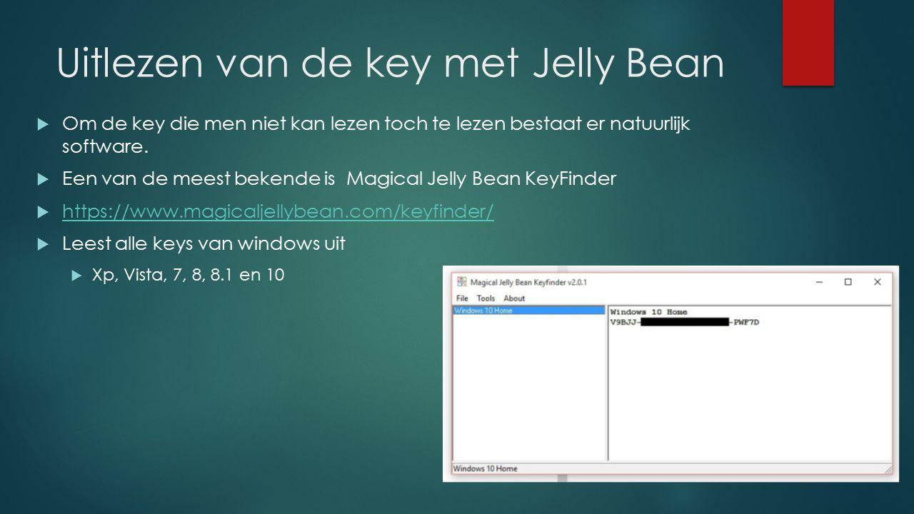 Uitlezen van de key met Jelly Bean