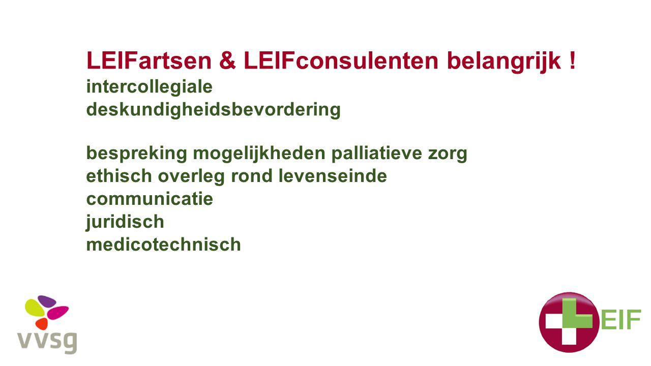 LEIFartsen & LEIFconsulenten belangrijk !